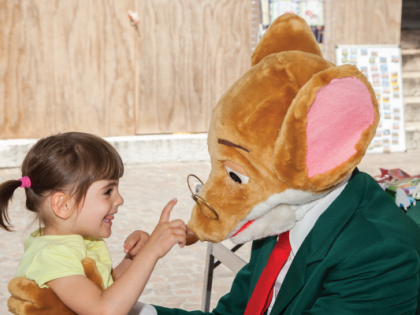 Meeting with Geronimo Stilton